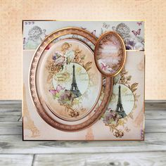 Card created using Hunkydory Crafts' Rose Gold Moments - Happiness is a Journey Topper Set Rose Gold Foil, Rose Gold Color, Card Making Kits, Making Ideas, Hunkydory Crafts, Gold Color Scheme, Paris Images, Create And Craft, Unique Cards