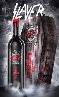 Reign in Blood in Coffin Heavy Metal Art, Heavy Metal Bands, Black Metal, Rock Posters, Band Posters, Concert Posters, Woodstock, Rock Bands, Reign In Blood