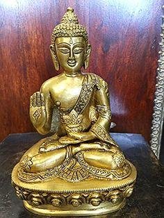 Buddha Brass Statue Buddhist Healing Medicine Religious Figurine Idol Mogul Interior http://www.amazon.com/dp/B00VYDAC1O/ref=cm_sw_r_pi_dp_rm6Mvb0K1J7T9