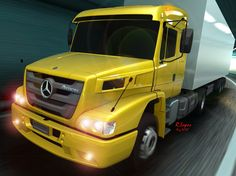 Render ShowCase Atron 2012 High roof by Ronaldo Lopes Mercedes Benz Trucks, Mercedes Benz Models, Wooden Toy Trucks, Daimler Ag, Brazil, Tractor, Behance, Projects, Drawing Techniques