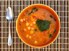 Mmmmmm vegan African Peanut Stew! A delicious soup that is great as an appetizer or as a meal!