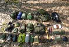 What kinds of things should a bushcraft camping outfit include? Here's a list of 31 items to consider