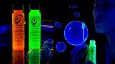 Glow in the dark bubbles...must have!