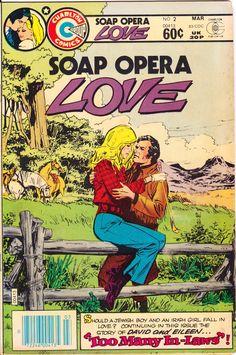 Soap Opera Love #2 Charlton Comics Jewish Irish Romance Love Too Many In-Laws FN/VF (7.0) by LifeofComics on Etsy https://www.etsy.com/listing/235449423/soap-opera-love-2-charlton-comics-jewish