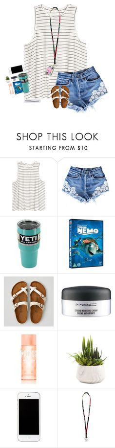 """""""everyone's like spring transition and i'm like hb summer?"""" by southernmermaid ❤ liked on Polyvore featuring H&M, American Eagle Outfitters, MAC Cosmetics, Victoria's Secret PINK, Vera Bradley and Lilly Pulitzer"""