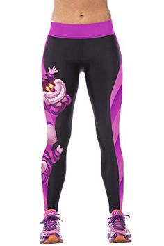 Pink Queen® Womens 3d Cheshire Cat Printed Workout Traning Leggings Tights Pink Queen http://www.amazon.com/dp/B010B2867A/ref=cm_sw_r_pi_dp_EHbSvb0TZ0Y46