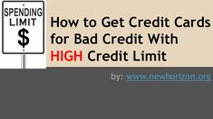 credit card limit high or low