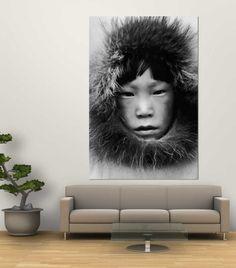 Eskimo Laminated Oversized Art by Margaret Bourke-White at Art.com