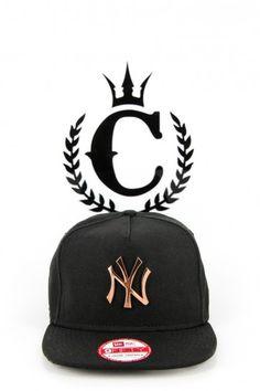 New York Yankees rose gold badge Snapback Culture Kings b791cd5ec