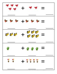 Spring Activities for Kids Dyslexia Activities, Kindergarten Math Worksheets, Toddler Learning Activities, Preschool Printables, Preschool Activities, Math For Kids, Fun Math, Montessori Math, Math Lessons