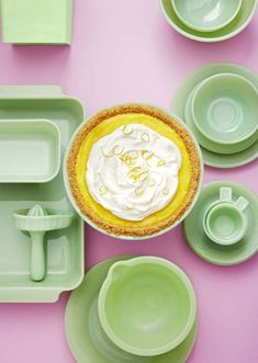 A homemade Meyer lemon pie will impress everyone at your next family picnic. Family Picnic Foods, Blueberry Popsicles, Dallas, Garage Sale Finds, Vintage Globe, Shops, Drop Cloth Curtains, Antique Glassware, Summer Barbecue