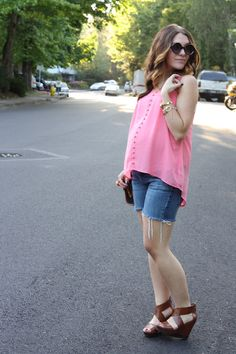 Frills for Thrills- love the pink