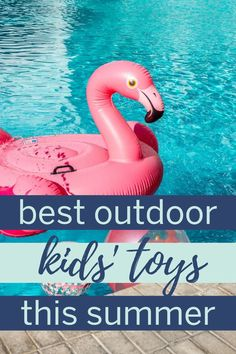 The best summer kids toys for playing outside and ideas to keep kids entertained over the summer. What To Pack For Vacation, Packing List For Vacation, Outdoor Toys For Kids, Outdoor Play, School's Out For Summer, Summer Kids, Water Balloons, Summer Activities For Kids, Raising Kids