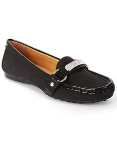 COACH FELISHA FLAT - Coach Shoes - Handbags & Accessories - Macys. I have cheaper denver-hayes version in brown...nice