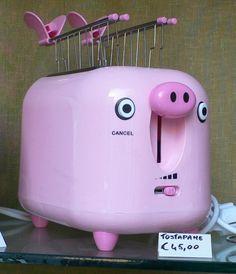 toaster / more on http://agdsprzet.com.pl/male-agd/bite-me-czyli-najlepsze-edycje-kolekcjonerskie-tosterow/
