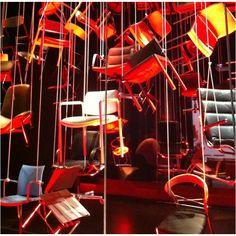 Chairs installation