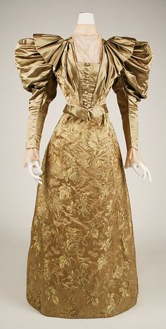 Day Dress Made Of Silk - American   c.1898   -   The Metropolitan Museum of Art
