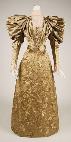 Day Dress Made Of Silk - American   c.1898   -   The Metropolitan Museum of Art