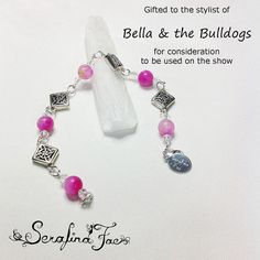 Beautiful Contemporary Healing Jewelry for Her Back to School Pink TV Show Gifting Fashion Jewelry Beaded Bracelet PMS Gifts for Her