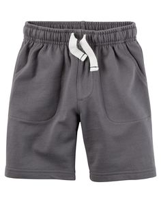 Kid Boy French Terry Shorts from Carters.com. Shop clothing & accessories from a trusted name in kids, toddlers, and baby clothes.