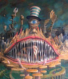 obraz W niewoli Mrocznego Prześmiewcy (2006) by Jaroslaw Jasnikowski