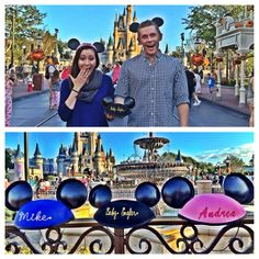 "Disney world baby announcement. Disney world pregnancy announcement. So fun :) ""Adding a new set of ears to our family"" --- http://tipsalud.com -----"