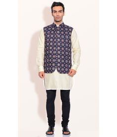 Ashish N Soni Grey Cotton Pietra Dura Nehru Jacket, http://www.snapdeal.com/product/designer-wear-gray-cotton-pietra/127770857
