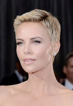 Charlize Theron at the 85th Annual Academy Awards