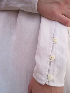 Take the cuffs off a too long sleeve and do this