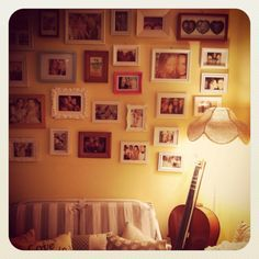 My feature wall.