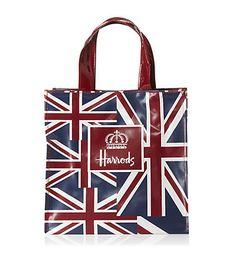 I love this Harrods bag.