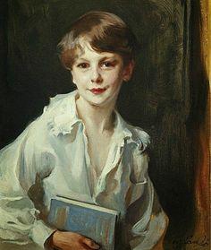 Philip de László Portrait of Charles Douglas Conyers Lang, 1926