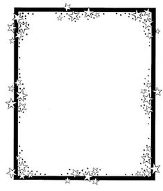 Stars clipart side border - pin to your gallery. Explore what was found for the stars clipart side border Frame Border Design, Page Borders Design, Doodle Borders, Borders For Paper, Free Printable Stationery, Printable Designs, Printables, Printable Border, Backgrounds