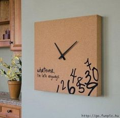 """""""Whatever I'm late anyway"""" - always loved this clock"""