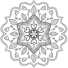 """You've probably heard of the term """"ivy league"""" to describe elite universities in the US, but do you know where the term comes from? Seven of the eight ivy Mandala Coloring Pages, Free Coloring Pages, Coloring Books, Mandala Pattern, Pattern Art, Pattern Designs, Mandala Drawing, Mandala Art, Colored Pencil Lessons"""