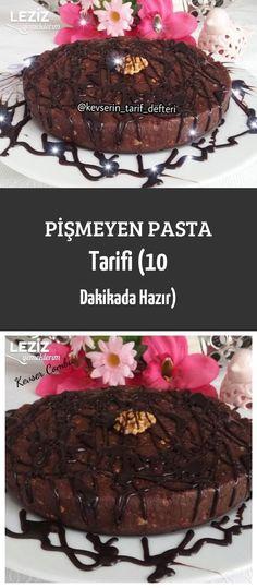 Pişmeyen Pasta Tarifi (10 Dakikada Hazır)
