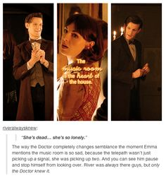 """River Song references in the episode """"Hide"""" hmmmm.....I need to rewatch this"""