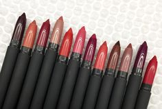 Matte Creme Lip Crayons Makeup Art, Makeup Tips, Bite Beauty, Crayons, Red Lips, Makeup Brushes, Black Women, Fashion Beauty, Nail Polish