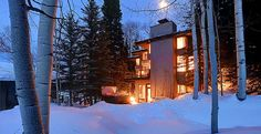Logan home, Aspen, Colorado Vacation Rental http://www.estatevacationrentals.com/property/logan-home