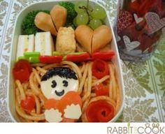 Valentine theme lunch
