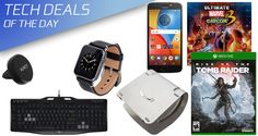 Tech Deals: Laptop Stand, 50% Off Tomb Raider, $9 Apple Watch Band, $30 Gaming Keyboard, Much More