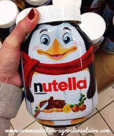 Pot de Nutella Pingouin - Edition limitée pour les fêtes de fin d'année 2014