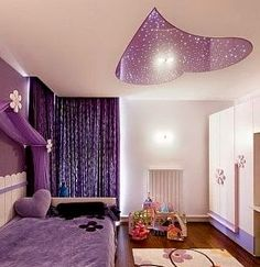 New tips to false ceilings in the kids room