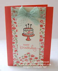 Stampin' Up! UK Order Online 24/7 - Julie Kettlewell: Endless Birthday Wishes