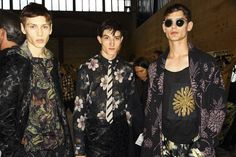 Dries Van Noten #PFW Fashion Week Paris, Mens Fashion Week, Dries Van Noten, Photo Diary, Phillip Lim, Style Icons, Floral Prints, Menswear, Louis Vuitton