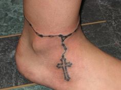 Love the ankle bracelet idea