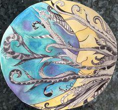 Mandala done in zentangle style. AP Art