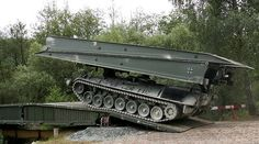 """Waters recognizes the trained eye of the soldier as a """"terrain clearance"""": In order to overcome such, armament engineers have developed the """"beaver""""."""