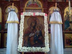 ΕΝΟΡΙΑ ΑΓΙΑΣ ΤΡΙΑΔΟΣ ΗΡΑΚΛΕΙΟΥ: Οι Χαιρετισμοί προς την Υπεραγία Θεοτόκο
