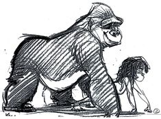 It would be a dream come true for me if I could work with Glen Keane one day.